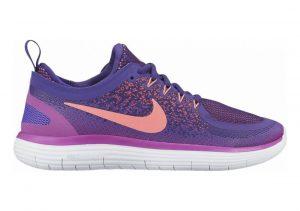 Nike Free RN Distance 2 Hyper Grape / Lava Glow-Court Pu