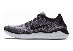 Nike Free RN Flyknit White/Black
