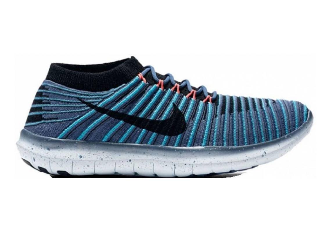 Nike Free RN Motion Flyknit Blue