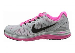 Nike Dual Fusion Run 3 Grey Black Pink
