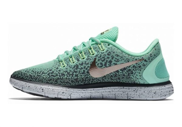 Nike Free RN Distance Shield Green