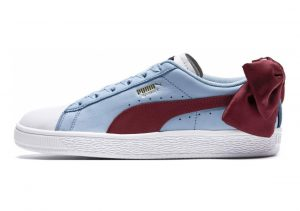Puma Basket Bow New School White-cerulean-pomegranate