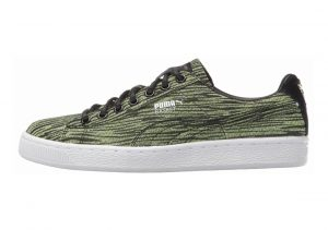 Puma Basket Classic Tiger Mesh Safety Yellow/Puma B