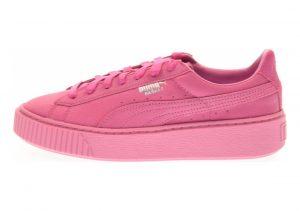 Puma Basket Platform Reset Pink