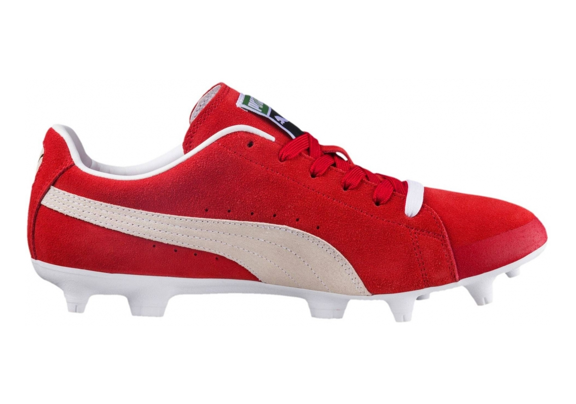 Puma Future Suede FG/AG Red (Rot Rot)