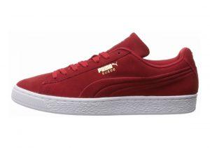 Puma Suede Classic Debossed Red