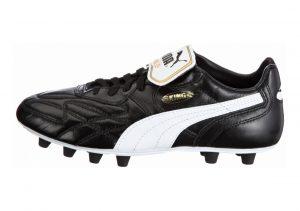 Puma King Top di Firm Ground Black (Black/White/Team Gold)