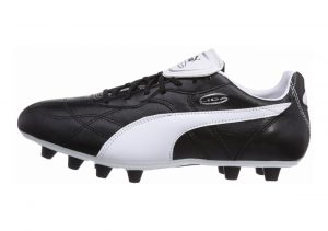 Puma Liga Classico Firm Ground Black/White/Puma Silver