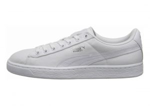 Puma Basket Classic Canvas White/white