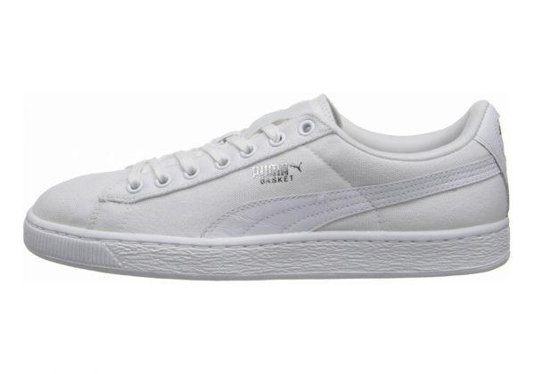 Puma Basket Classic Canvas White/white