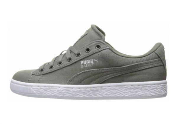 Puma Basket Classic Canvas Grey