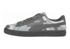 Puma Basket Classic Graphic Quiet Shade-quarry-puma White