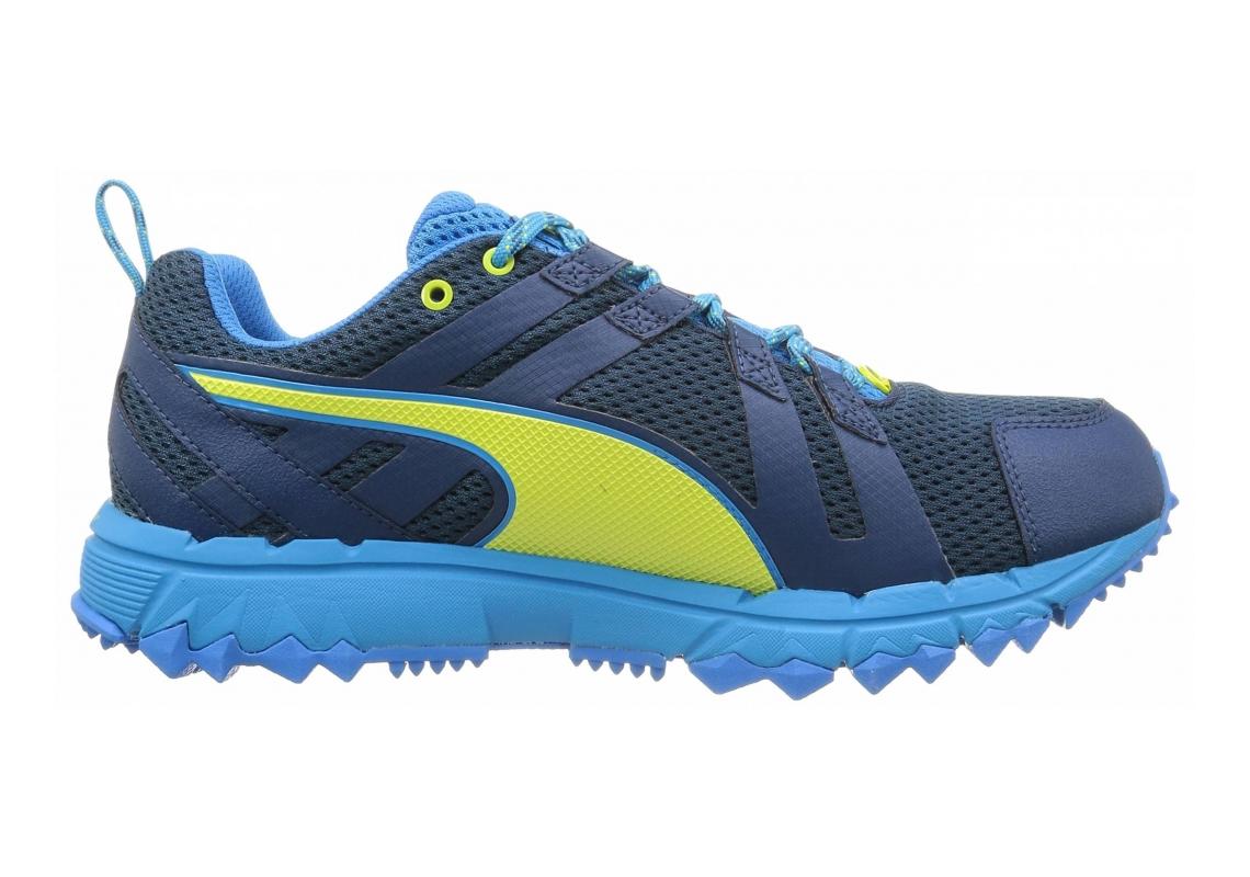 Puma Faas 500 TR v2 GTX Blue - Blau (poseidon-cloisonné-sulphur spring 01)