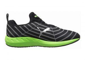 Puma Flare Slip-on Black/Green Gecko/Polyurethane