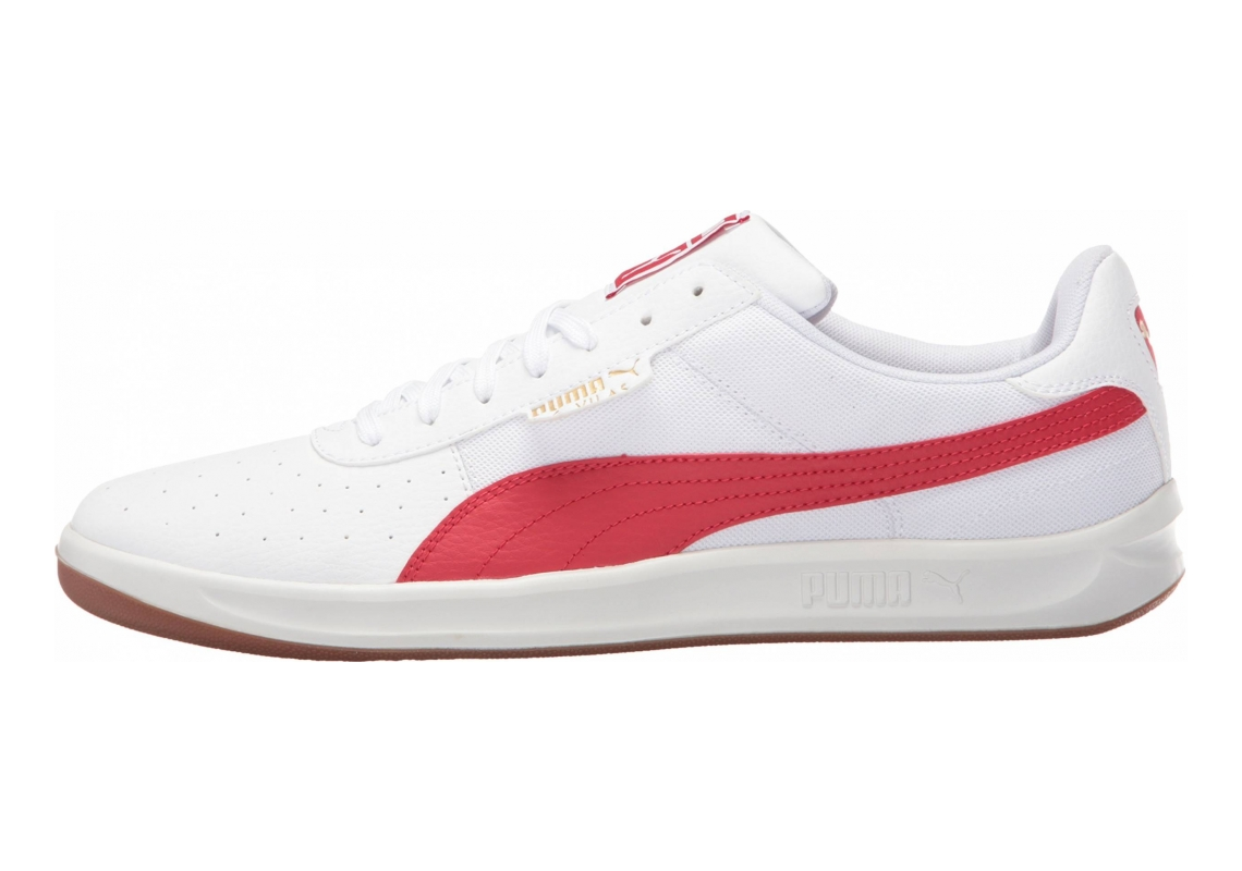 Puma G. Vilas 2 Core Puma White/Barbados Cherry