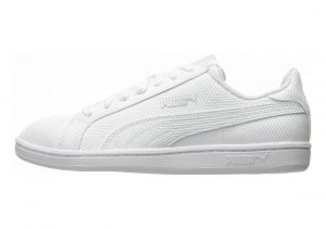 Puma Smash Deboss White