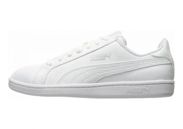 Puma Smash Deboss White
