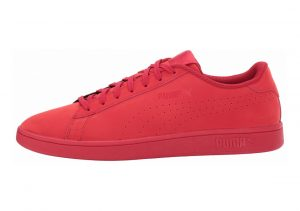 Puma Smash v2 Nubuck Toreador (Red)