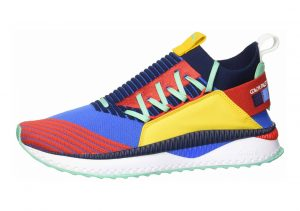 Puma TSUGI Jun Primary Pigment Strong Blue-high Risk Red-spectra Yellow