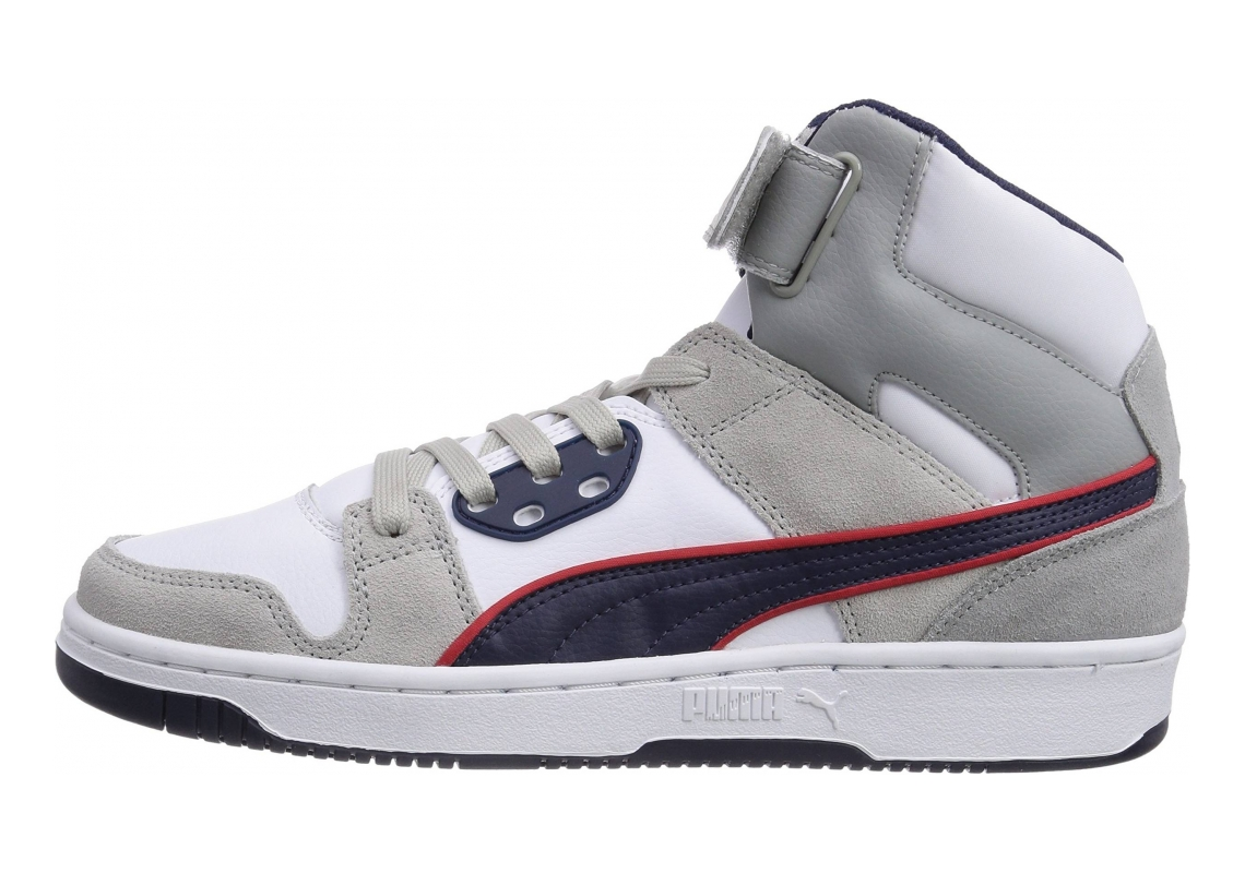 Puma Rebound Street SD Grau (Gray Violet-peacoat-high Risk Red 05)