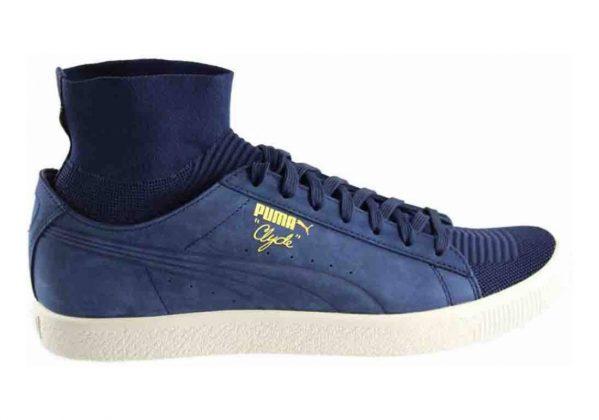Puma Clyde Sock Blau