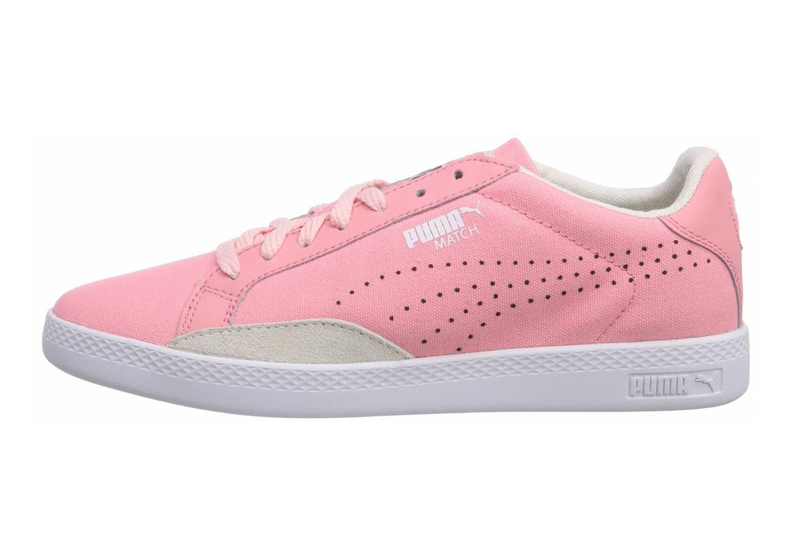 Puma Match Lo Canvas Flamingo Pink/Whispe