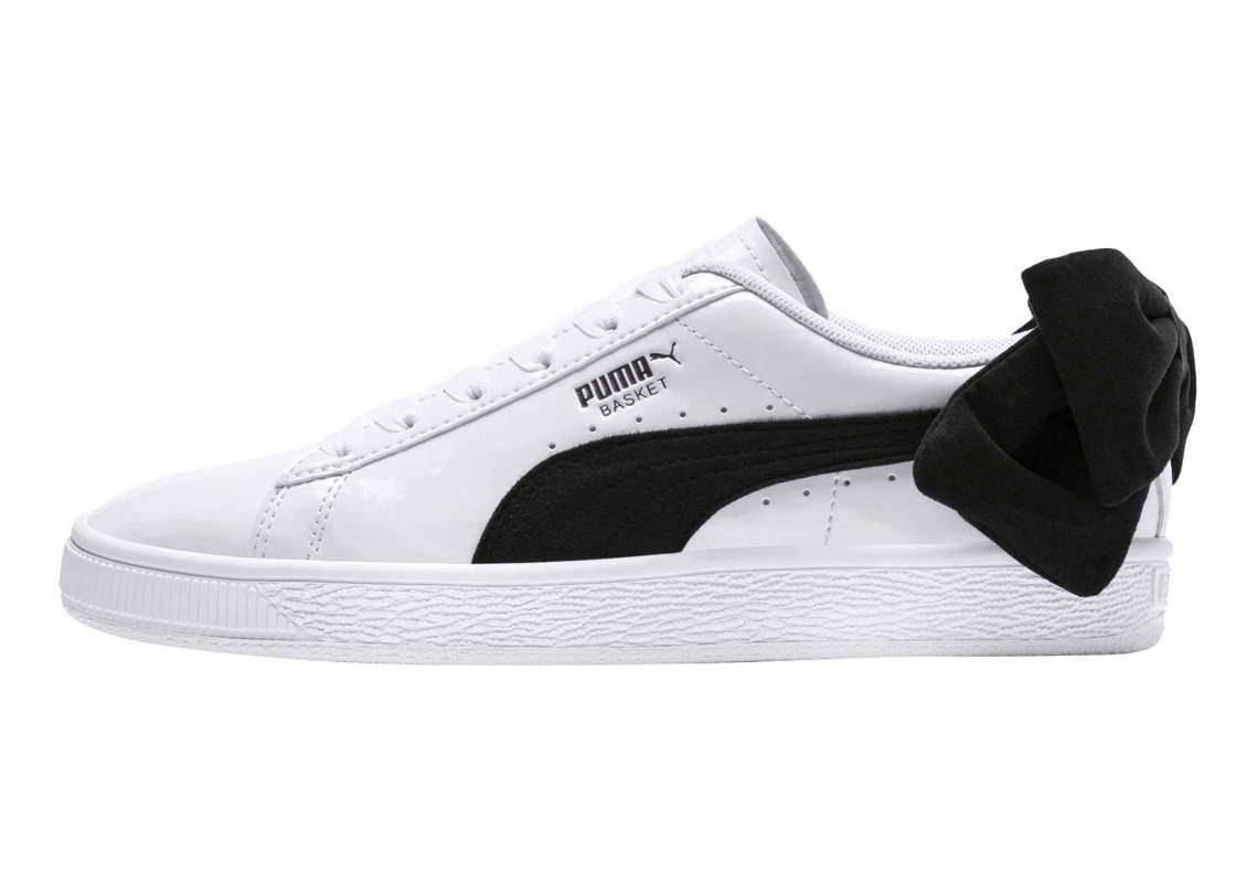 Puma Basket Bow Puma White-puma Black