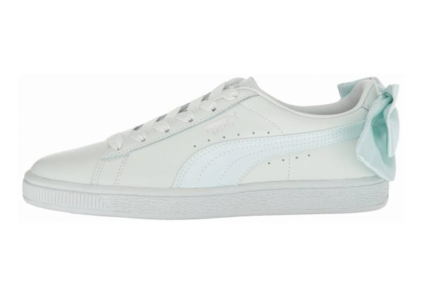 Puma Basket Bow Blue Flower / Blue Flower