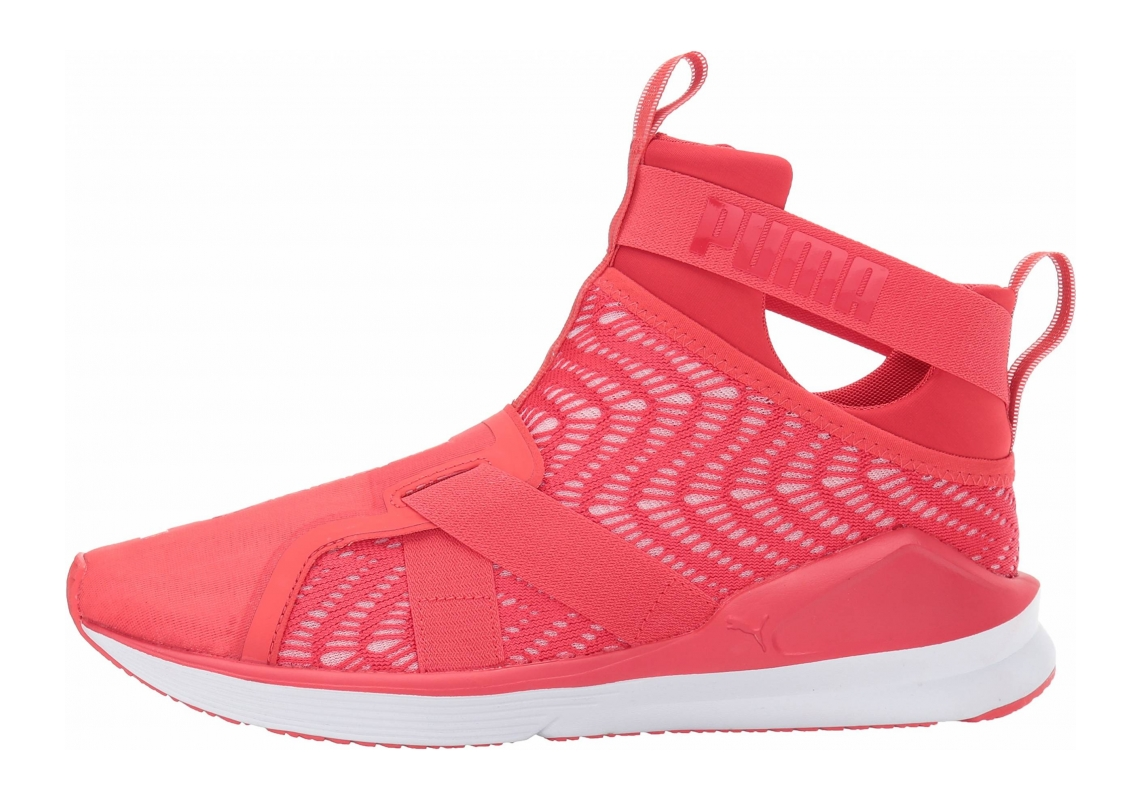 Puma Fierce Strap Swirl Poppy Red-puma White