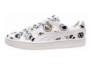 Puma x Sesame Street Basket White
