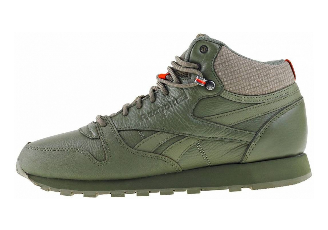 Reebok Classic Leather Mid TWD Green