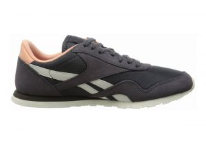 Reebok Classic Nylon Slim Core Grey / Brown / Pink (Ash Grey / Desert Stone / Chalk)
