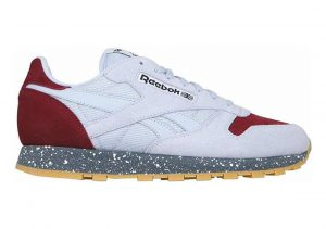 Reebok Classic Leather SM Cloud Grey/Merlot/Alloy