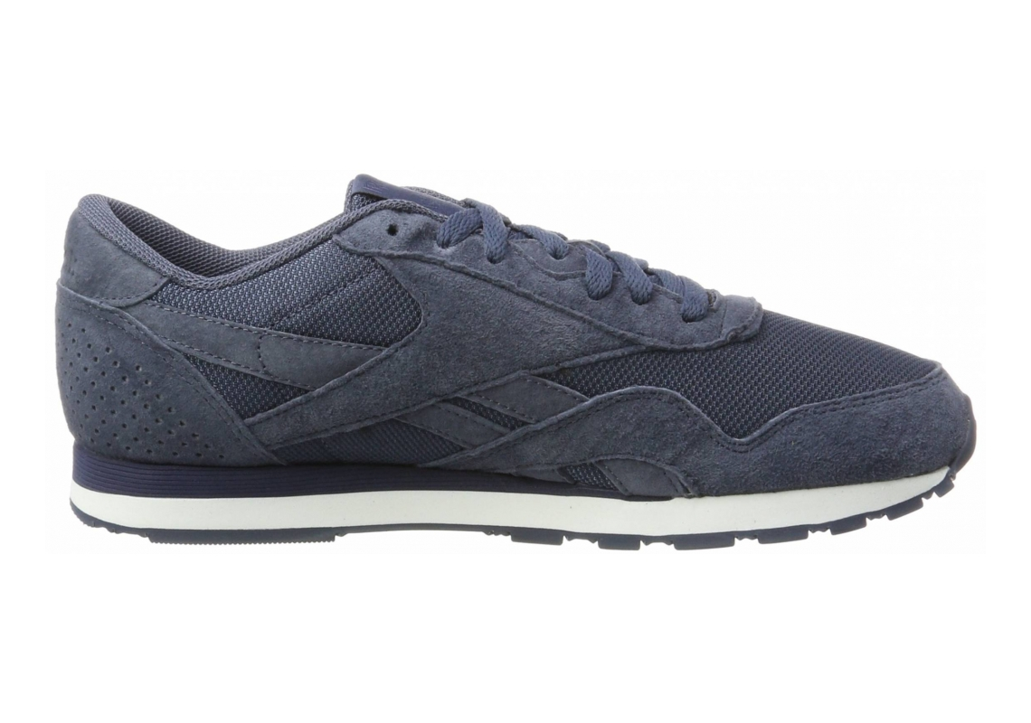 Reebok Classic Nylon Tech Azul (Smoky Indigo / Collegiate Navy / White)