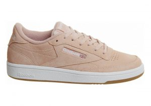 Reebok Club C 85 Multicolore (Premim Basic 3/Peach Twist/Gum/White 000)