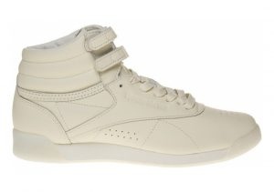 Reebok x FACE Stockholm Freestyle Hi Bianco