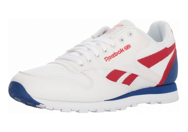 Reebok Classic Leather MVS White/Excellent Red/Team