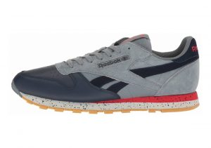 Reebok Classic Leather SM Asteroid Dust/cllg Nav/prml Red/sklgry-gum