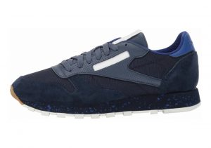 Reebok Classic Leather SM Collegiate Navy/Sky Indigo/Deep Cobalt/Chalk