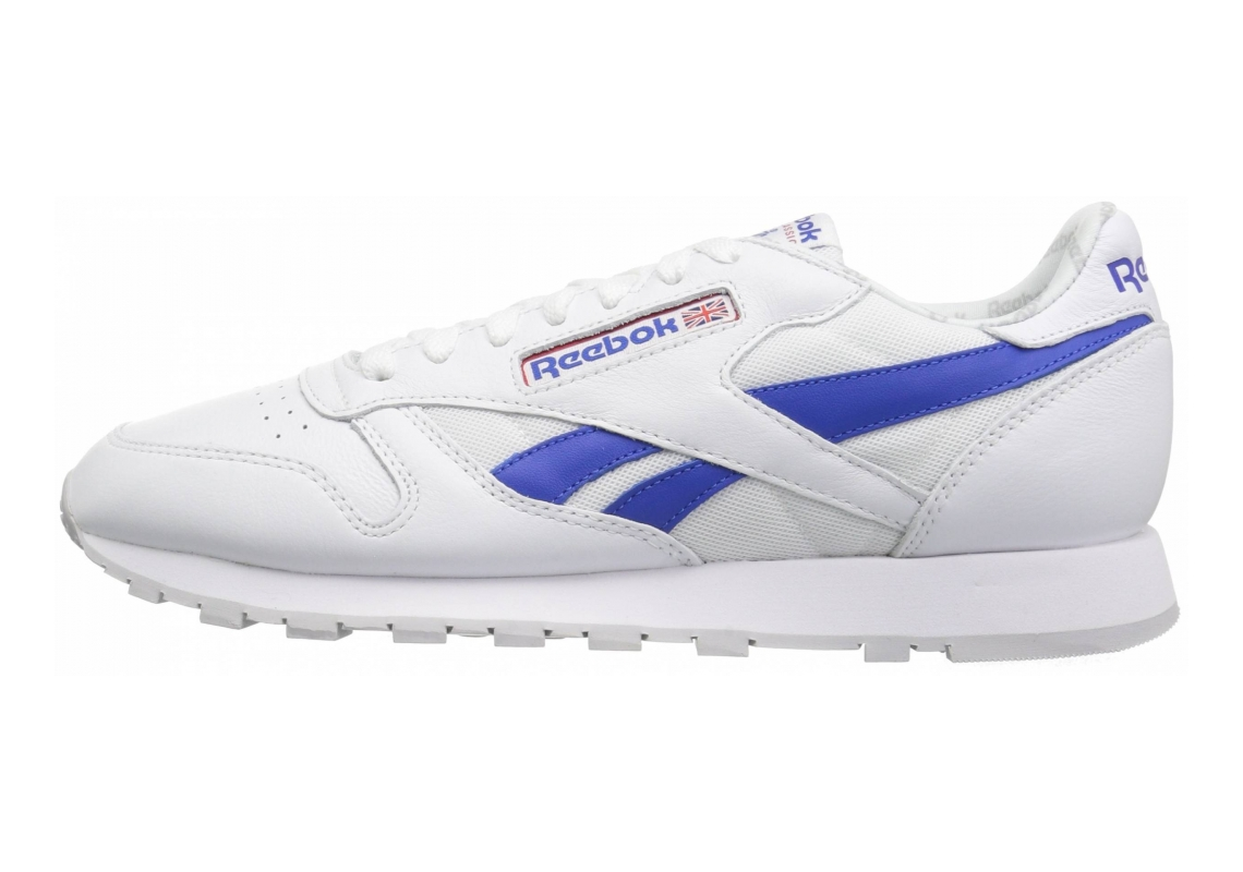 Reebok Classic Leather SO White/Vital Blue/Primal Red/Lgh Solid Grey