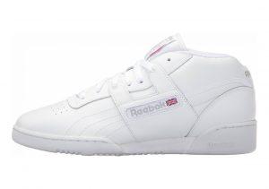 Reebok Workout Mid White/White/Warm Grey