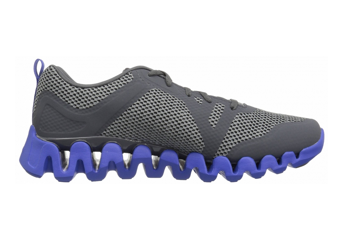 Reebok Zig Evolution 2.0 Alloy/Flint Grey/Acid Blue/Ash Grey/White/Pewter