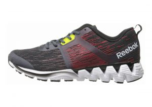 Reebok ZigKick Force Graphite/Red Rush/Black/White/Rustic Wine/Black/Semi Solar Yello