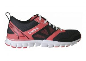 Reebok RealFlex Speed 3.0 Black-Sorbet-White