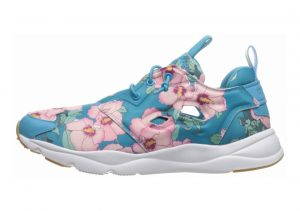 Reebok Furylite FG Floral/Flight Blue/Rebel Berry