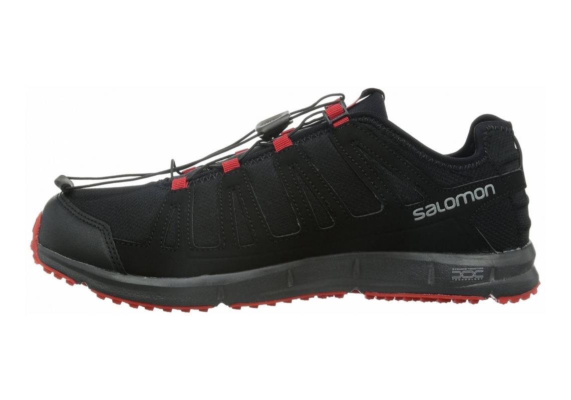 Salomon Kowloon Black / Black / Bright Red
