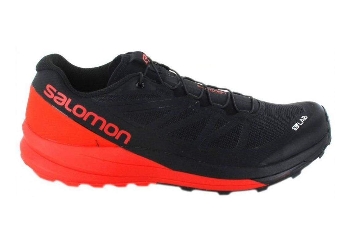 Salomon S-Lab Sense Ultra Black/Racing Red/White