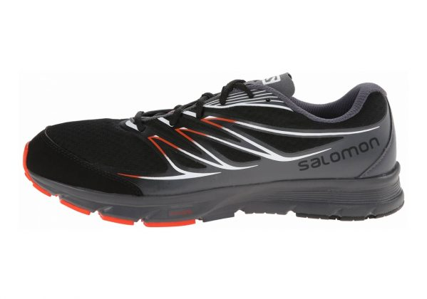 Salomon Sense Link Black/Dark Cloud/Tomato Red