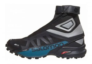 Salomon Snowcross 2 CSWP Black / Reflective Silver / Mallard Blue