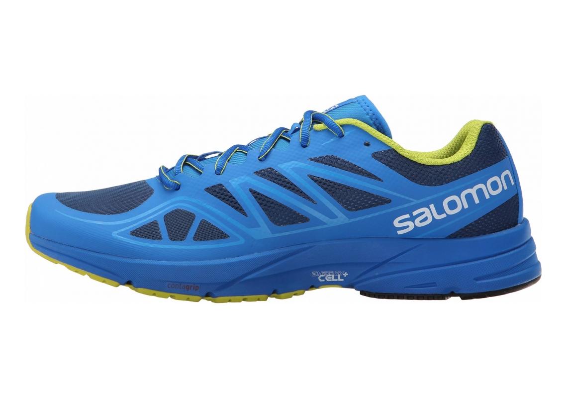 Salomon Sonic Aero Midnight Blue/Bright Blue/Gecko Green